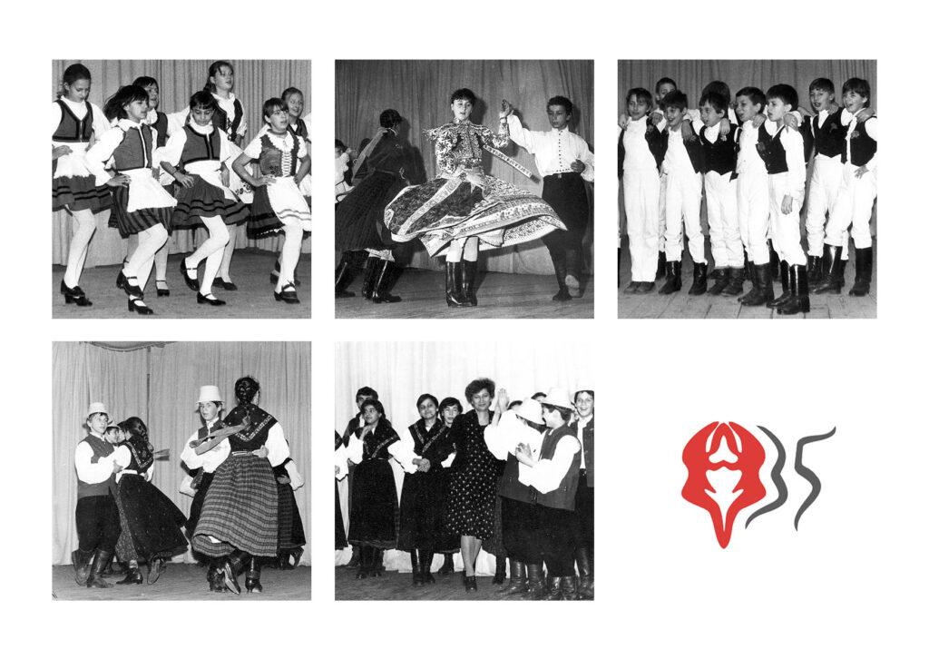 Folklórkör 1985-1989